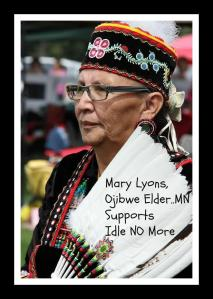 Mary Lyons, Ojibwe Elder, Member of The Grandmothers Circle The Earth Foundations's Snow Goose Council