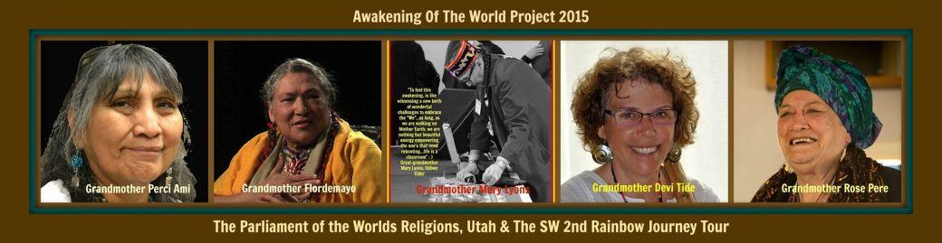 Awakening of the world panel from Mary Lyons