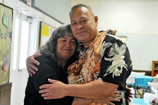 Susan with her mentor Herman in Phoenix